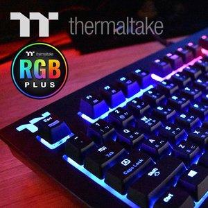 【開箱】TT Premium X1 RGB 電競鍵盤 心得,用說的也會通歐~~~