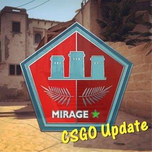 CSGO 2018年6月13日更新內容【武器調整、Mirage多處修改】