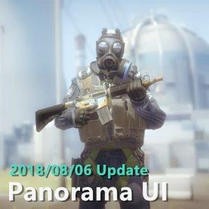 2018/08/06 Update 更新事項  Panorama UI