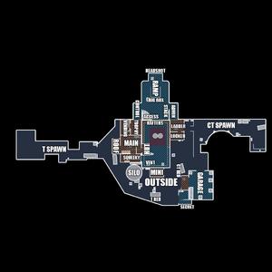 CSGO 地圖英文報位 ( 目前缺Cache