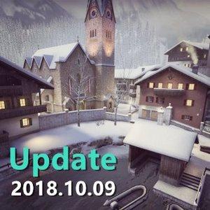 2018/10/09 Update 經濟改動 部分武器數值/價錢調整 新地圖上線