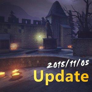 2018/11/05 Update 更新事項 記分板 古堡改動