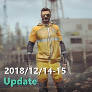 2018/12/14-15 Update更新日誌 UI  DANGER ZONE 調整