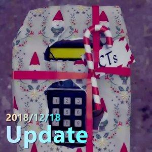 2018/12/18 Update 更新事項 冬季主題 10年硬幣 2019勳章